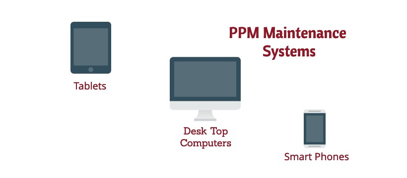 PPM maintenance software used on multiple devices
